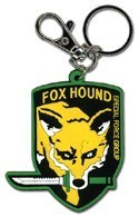 Metal Gear Solid Fox and Hound Key Chain
