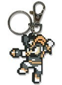 Megaman Bass Jumping Pixel PVC Key Chain