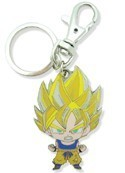 Dragonball Z Metal Goku Key Chain