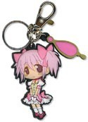 Puella Magi Madoka Magica SD Madoka Rubber Key Chain
