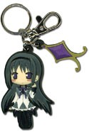Puella Magi Madoka Magica SD Homura Rubber Key Chain