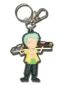 One Piece Zoro SD PVC Key Chain