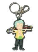 One Piece Zoro SD PVC Key Chain