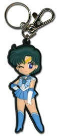 Sailor Moon SD Mercury Rubber Key Chain
