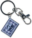 Persona 4 Card Metal Key Chain