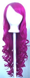 40/'/' Wavy Pig Tails Base Cotton Candy Pink Aria Cosplay Wig NEW