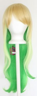 Haku - Fade Golden Blonde to Lime Green