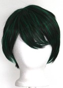Shou - Natural Black and Jungle Green