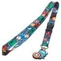 Marvel Avengers Captain America Lanyard Key Chain