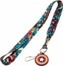 Marvel Captain America Lanyard Key Chain