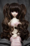 Doll Wig Meiko - Chocolate and Mocha Blend