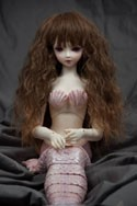 Doll Wig Fae - Chocolate Fade Mocha Brown