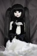 Doll Wig Miku - Natural Black