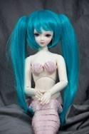 Doll Wig Miku - Seafoam Green