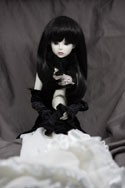Doll Wig Haku - Natural Black