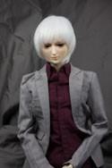 Doll Wig Yuki - Snow White