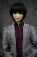 Doll Wig Yuki - Natural Black