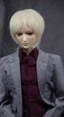 Doll Wig Yuki - Flaxen Blonde