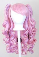 Meiko - Cotton Candy Pink and Lavender Purple Mixed Blend