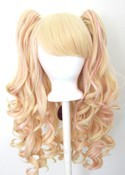 Meiko - Cotton Candy Pink and Flaxen Blonde Mixed Blend