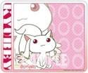 Puella Magi Madoka Magica Kyubey Chibi Plastic Mouse Pad