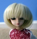 Doll Wig Short Bob Blonde