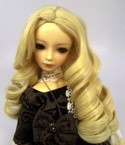 Doll Wig Giant Curls Blond