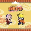 Naruto and Sakura 2 Pin Set