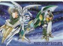 Magic Knight Rayearth Autozam Pencil Board