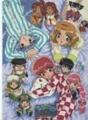 Magic Knight Rayearth Anime SD Pencil Board