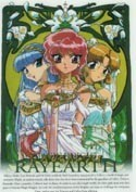 Magic Knight Rayearth Greek Goddess Pencil Board