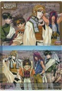 Saiyuki Anime Double Sided Pencil Board