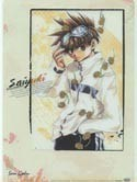 Saiyuki Goku Clear Pencil Board