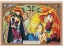 Slayers Try Lina and Gourry Pencil Board