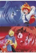 Slayers Double Sided Lina and Gourry Pencil Board