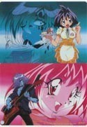 Slayers Double Sided Amelia and Zelgadis Pencil Board