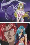 Slayers Double Sided Xellos and Dragons Pencil Board