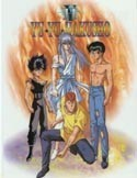 Yu Yu Hakusho Yellow Flame Pencil Board