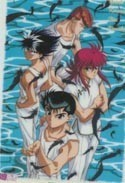 Yu Yu Hakusho Clear Pencil Board