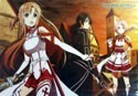 Sword Art Online Group Pencil Board Shitajiki