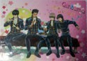 Gintama Shinsengumi Pencil Board Shitajiki