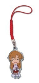 Sword Art Online Asuna Metal Charm Phone Strap