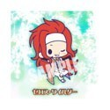 Tales of Symphonia Zelos Wilder Rubber Phone Strap
