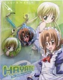 Hayate Combat Butler Nagi and Maria Phone Hang Set