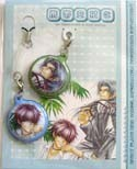 GP Gakuen Rin and Eichi Phone Hang Set