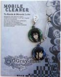 D.Gray-man Kanda and Miranda Phone Hang Set