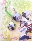 Da Capo II ScreenwiperMinatsu Amakase and Anzu Yukimura Phone Strap Set