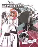 Bleach Ulquiorra and Orihime Screenwiper Phone Strap Set