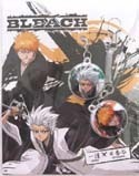 Bleach Ichigo and Hitsugaya Screenwiper Phone Strap Set