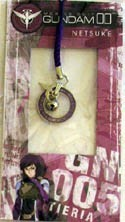 Gundam 00 Tieria Netsuke Phone Strap
